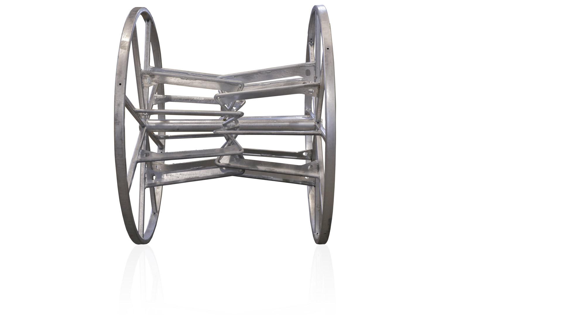 Split steel reel EW